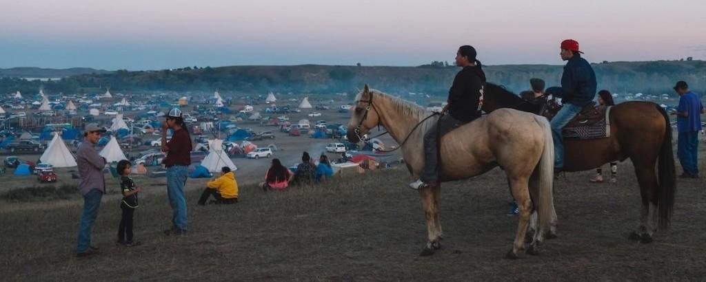 A tábor szeptemberben; Fotó: Sofia Lee; Forrás: Vice