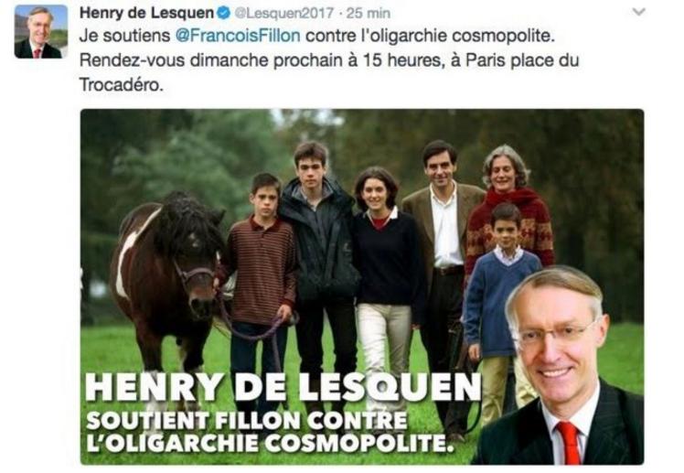 Fillonnak akadnak nem túl szalonképes, szélsőjobbos támogatói is