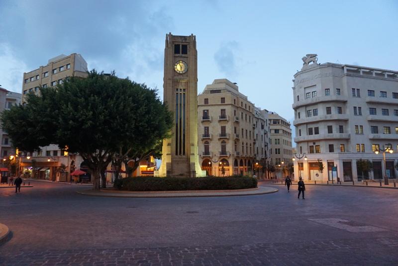 Bejrút belvárosa. Fotó: Sipos Zoltán