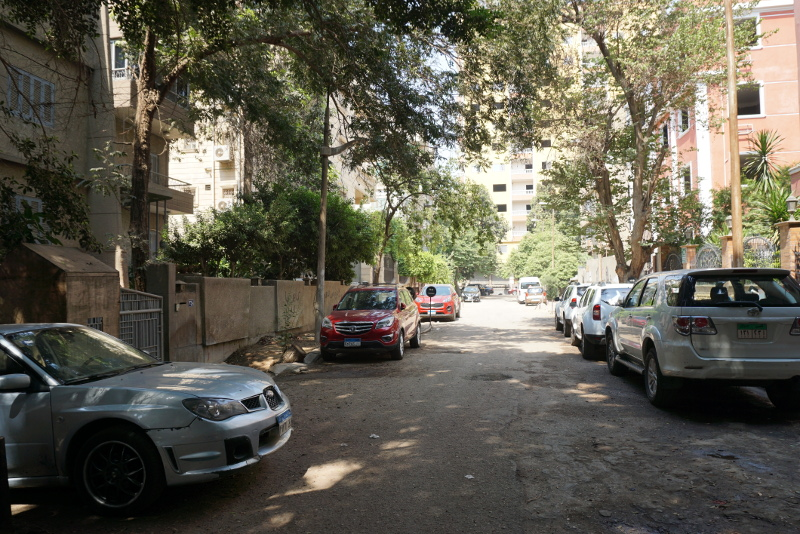 Kairónak egyik előkelő negyede, Maadi. Fotó: Sipos Zoltán