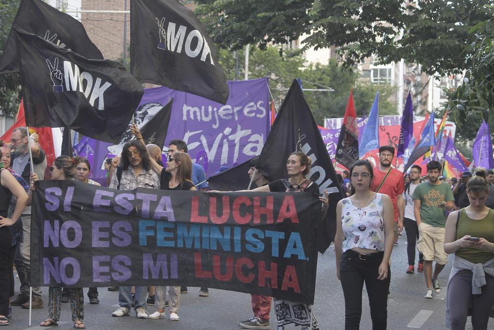 Idén is több argentin városban szerveztek péntekre vagy szombatra demonstrációt, a fotón Córdoba, forrás