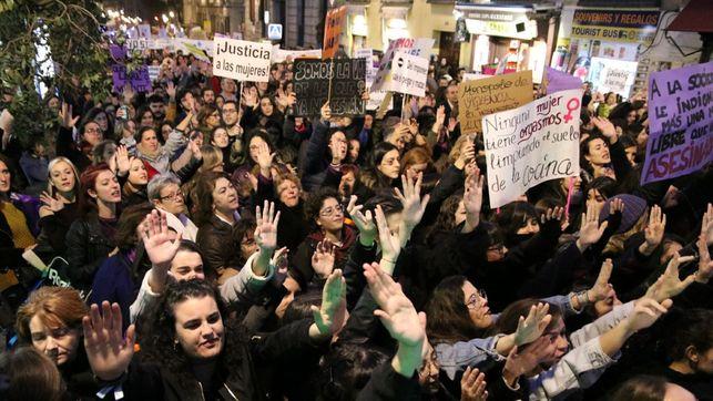 Az idei madridi tüntetés, fotó: David Conde, forrás