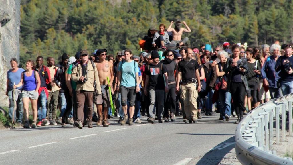 Az április 22-én zajlott tüntetés; Fotó: Valérie Merle