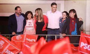 PSOE, Sanchez