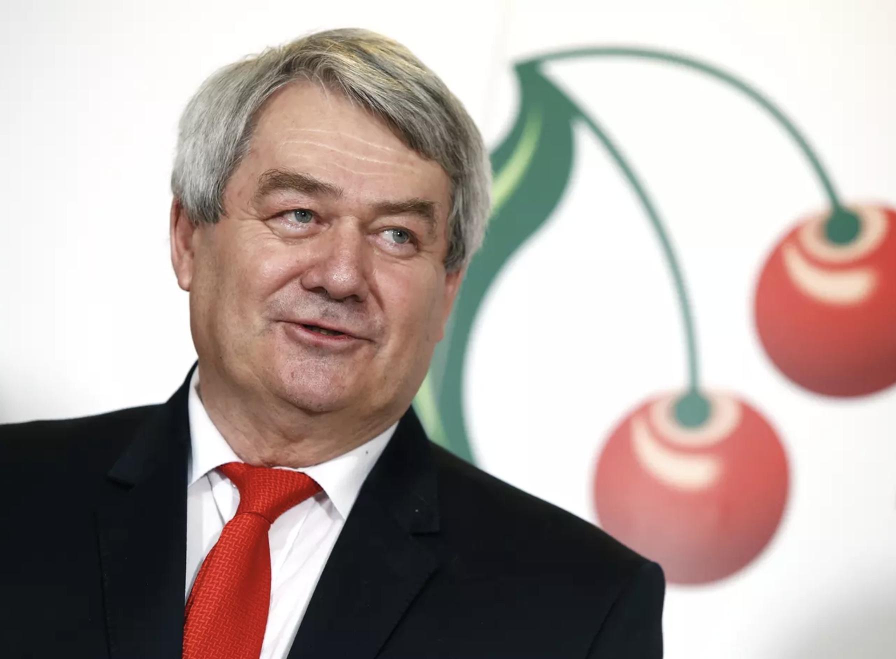 Vojtěch Filip a Cseh Kommunista Párt (KSČM) elnöke, Fotó: Petr Hloušek, Právo