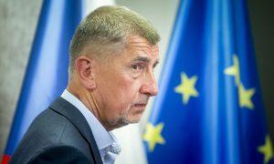 A vezető képen Andrej Babiš cseh miniszterelnököt látják. Foto: Gabriel Kuchta, Deník N