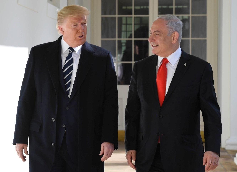 Netanjahu, Trump