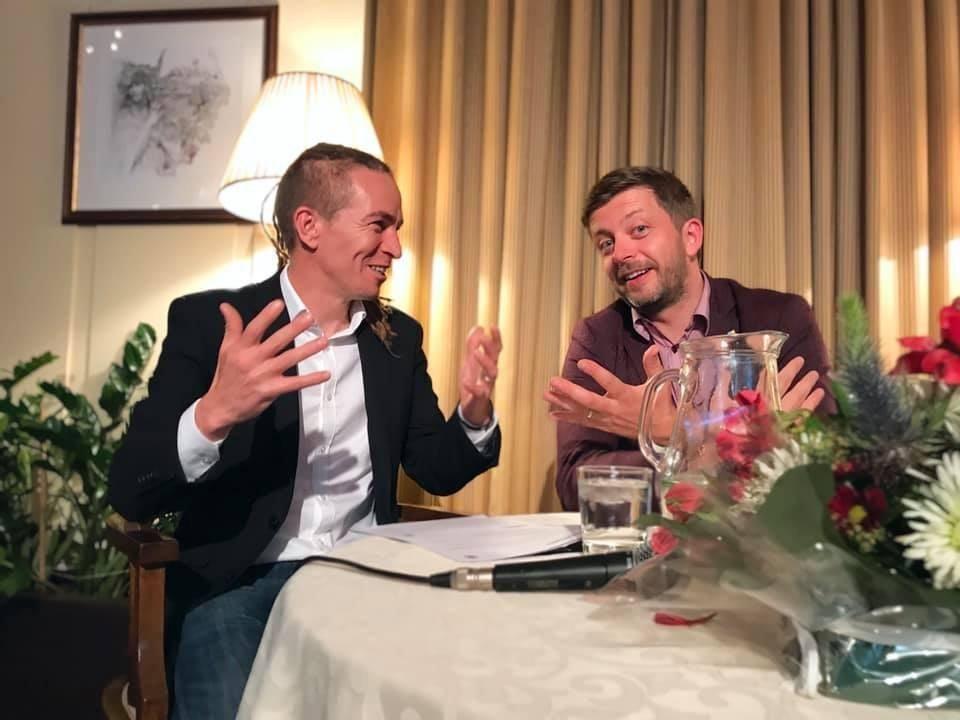 A választások lélektani győztese a demokratikus ellenzék. A fotón Ivan Bartoš a Kalózpárt elnöke és Vít Rakušan a STAN elnöke látható. Fotó: Ivan Bartoš, Facebook.