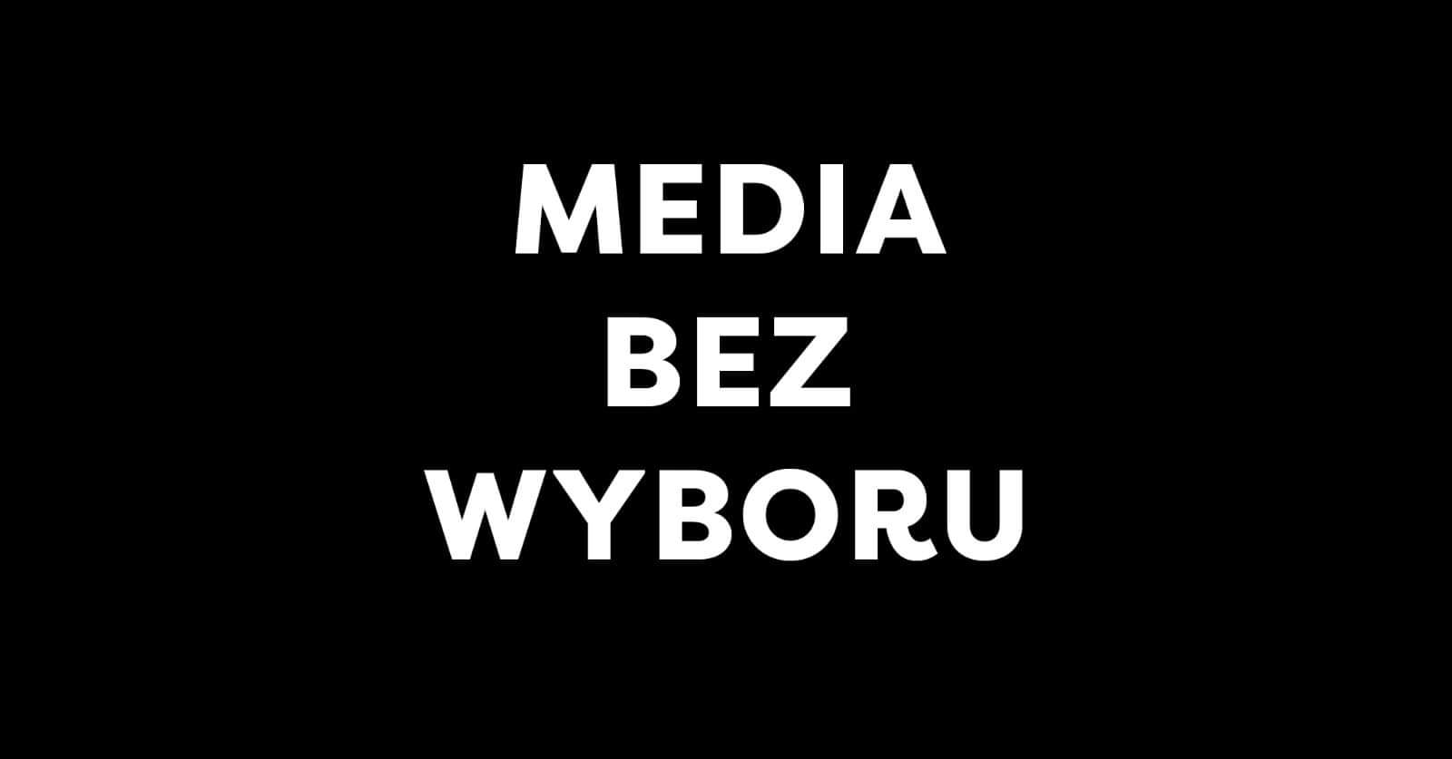 """""""Média választás nélkül"""""""